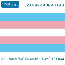 где купить Free shipping Transgender Pride Flag 3x5FT Brass Grommets 30*45cm Car Flag 90*150cm/60*90cm/15*21cm For Event / Office по лучшей цене