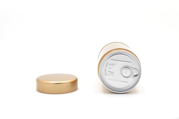 8,4x15,3 см Чайник Олово серебро и баночка золотых запечатывание коробки Жестяная Банка контейнер для хранения металла