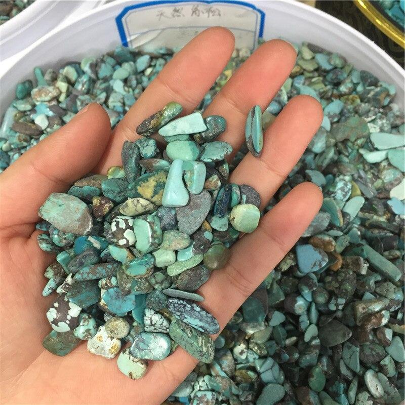 En gros de haute qualité naturel Kallaite dégringolé pierres de guérison gravier - 3