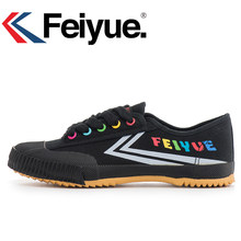 4e9bc820 Keyconcept Оригинальный Feiyue кроссовки классические туфли боевых искусств  тайчи тхэквондо ушу Кунг Фу мягкая обувь(