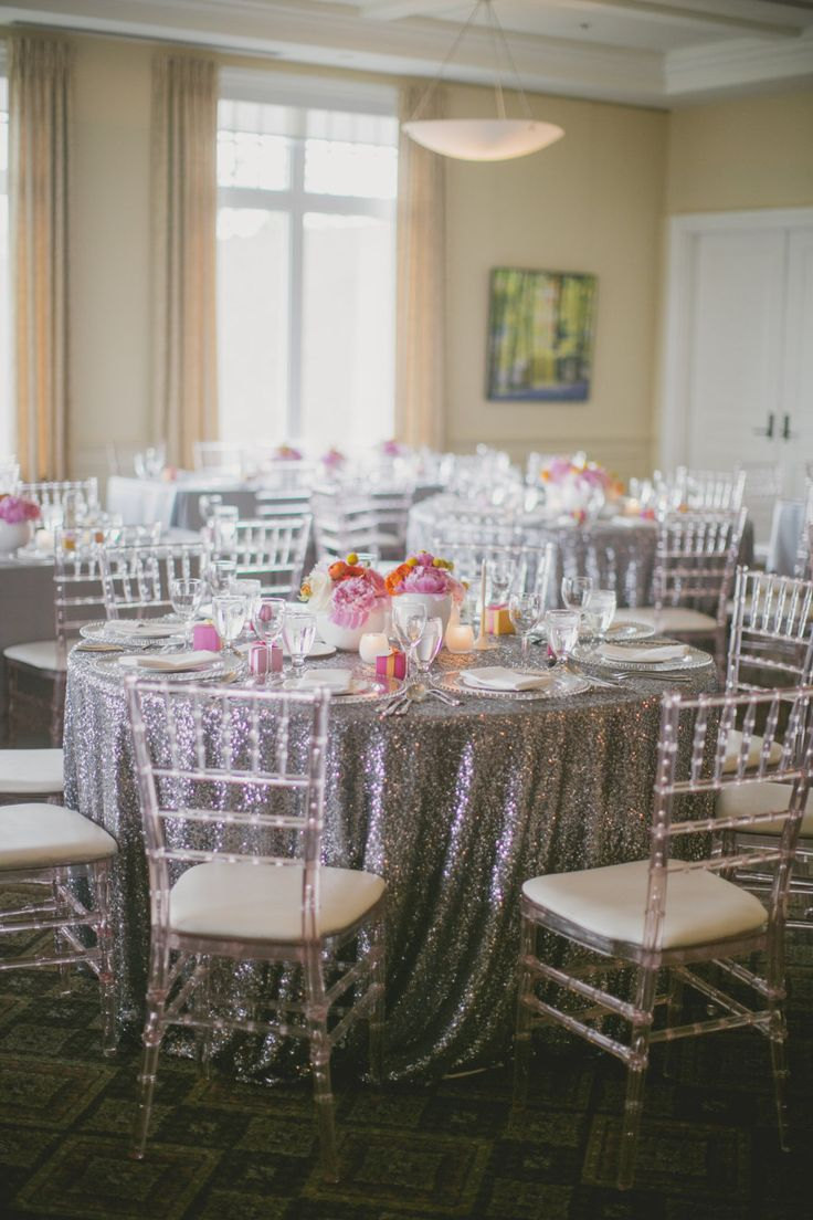 modern table linens promotionshop for promotional modern table  - wholesale  round (cm) silver sequin tablecloths wedding table linenglitter sequin table cover for wedding decoration