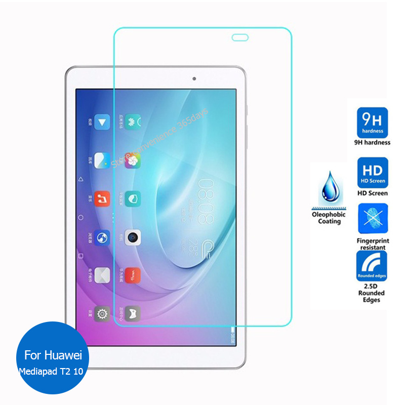 For Huawei Mediapad T2 10.0 Pro Tempered Glass Screen Protector 9h Safety Protective Film on Mdeia pad T2 10.1 FDR-A01L FDR A01L image