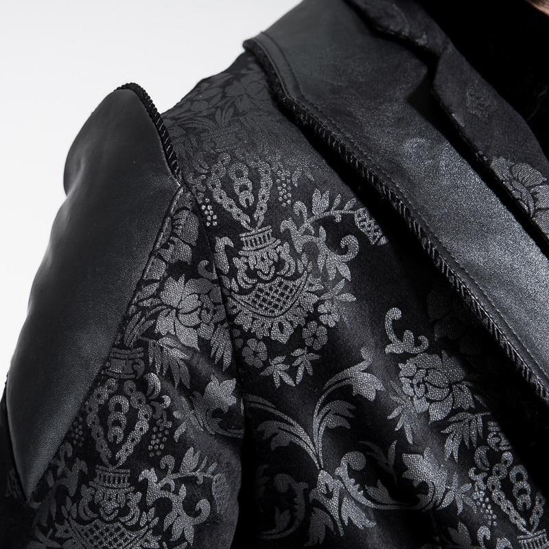 Γοτθική πανκ βικτοριανή Velvet παλάτι - Ανδρικός ρουχισμός - Φωτογραφία 6