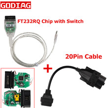 Melhor qaulity para bmw inpa k + pode k pode inpa com chip ft232rq com interruptor para bmw inpa k dcan interface usb