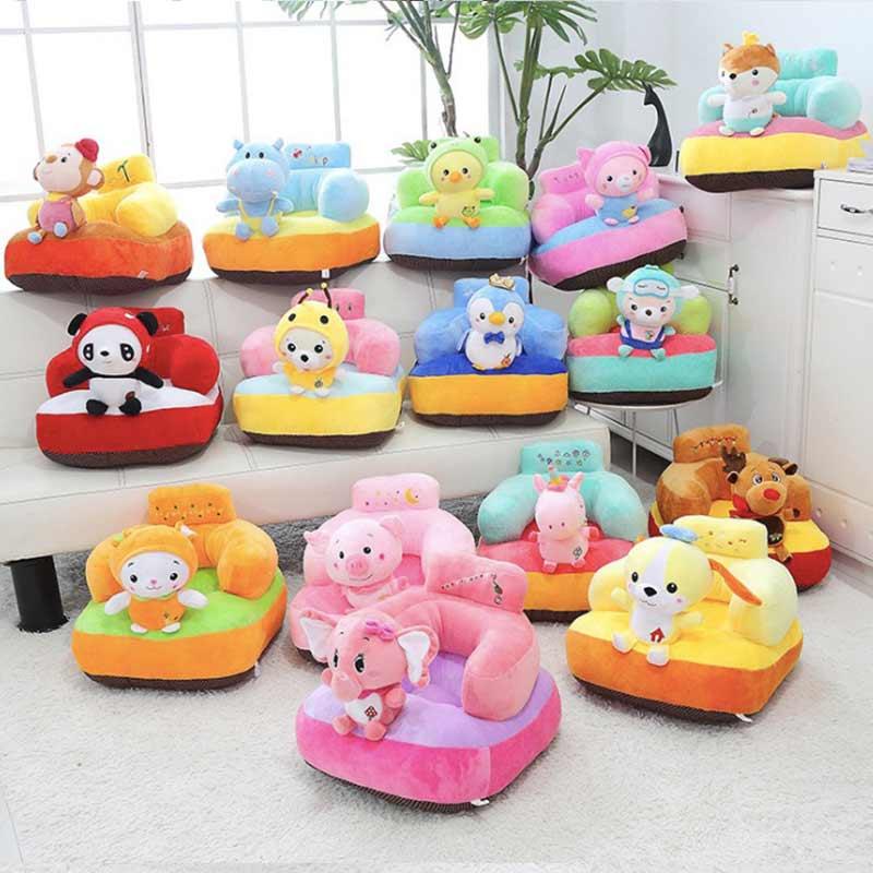 W12 Kids Chair Cotton Baby Sofa Feeding Seat Support Children's Furniture