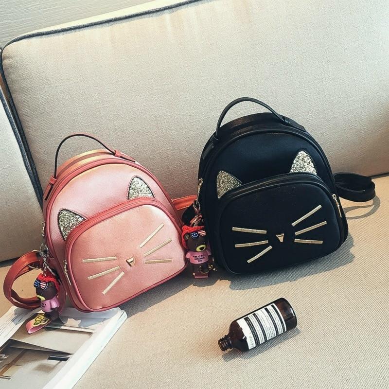 Детские школьные сумки с 3D котом, детские школьные сумки, детские школьные сумки для детского сада, для мальчиков и девочек, Детский рюкзак и...