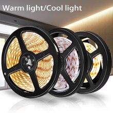 USB Strip LED TV Light 5V Motion Sensor Waterproof Flexible Tape Cabinet Lamp Backlight Lighting Closet
