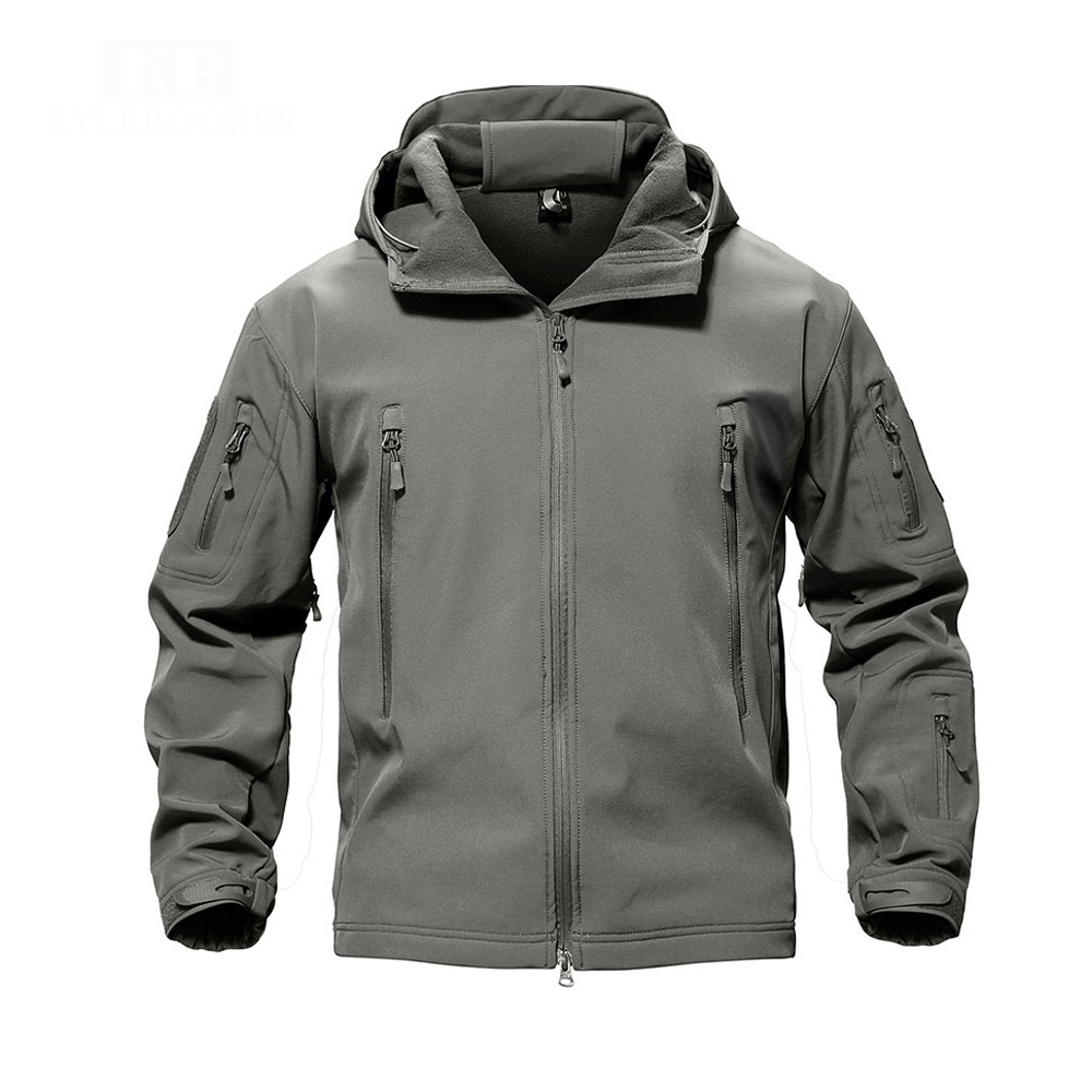 Fishing Clothing Soft Shell Lurker Shark Jacket Outdoor Windproof Angler Jacket  For Men And Women