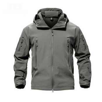 Men's Fishing Soft Shell Lurker Shark Jacket Men Outdoor Hunting Jacket Waterproof Jacket Windproof Colthing - DISCOUNT ITEM  8% OFF All Category
