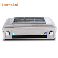YE102 outdoor BBQ Infrared gas Grill Smokeless Barbecue LPG Cooking Stove non stick pan portable barbecue oven