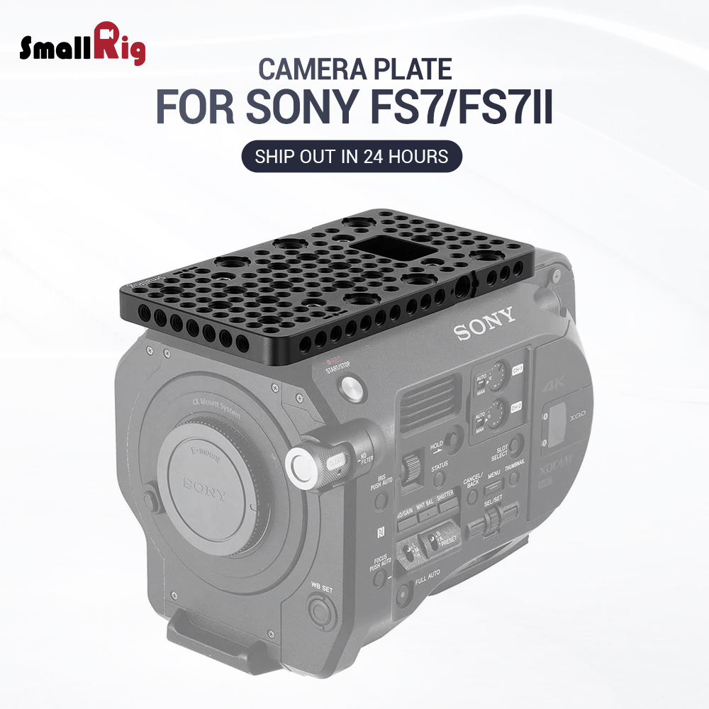 SmallRig Integrated Top Plate for Sony FS7 FS7II Cheese Plate With 1 4 3 8 Thread