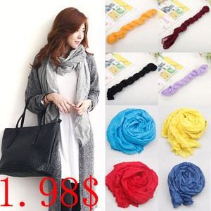 20-Colors-2015-Summer-New-Designer-Solid-Casual-Scarf-Women-Cotton-Flax-Blending-Longest-Scarves-For