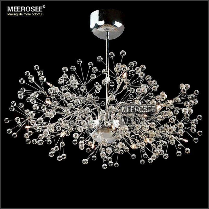 Vintage Glass Chandelier Lighting Fl French Re Light Cristal Suspension Hanging Lamp Md2396 For Living Room In Chandeliers From Lights