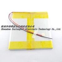 Painéis de marrom 3.7 V bateria do tablet gemei G9T dual bateria 9000 mAh de 38136138 Células Li-ion Recarregável de geração