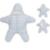 Bebé puro Algodón 88*81 cm otoño y el invierno cálido saco de dormir de forma de estrella de mar del bebé saco de dormir saco de dormir recién nacido bolsa Dianxiatoy