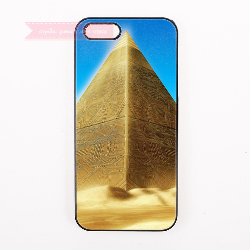 Modern Gold Pyramid Symbols Building For Samsung Galaxy S3 S4 S5