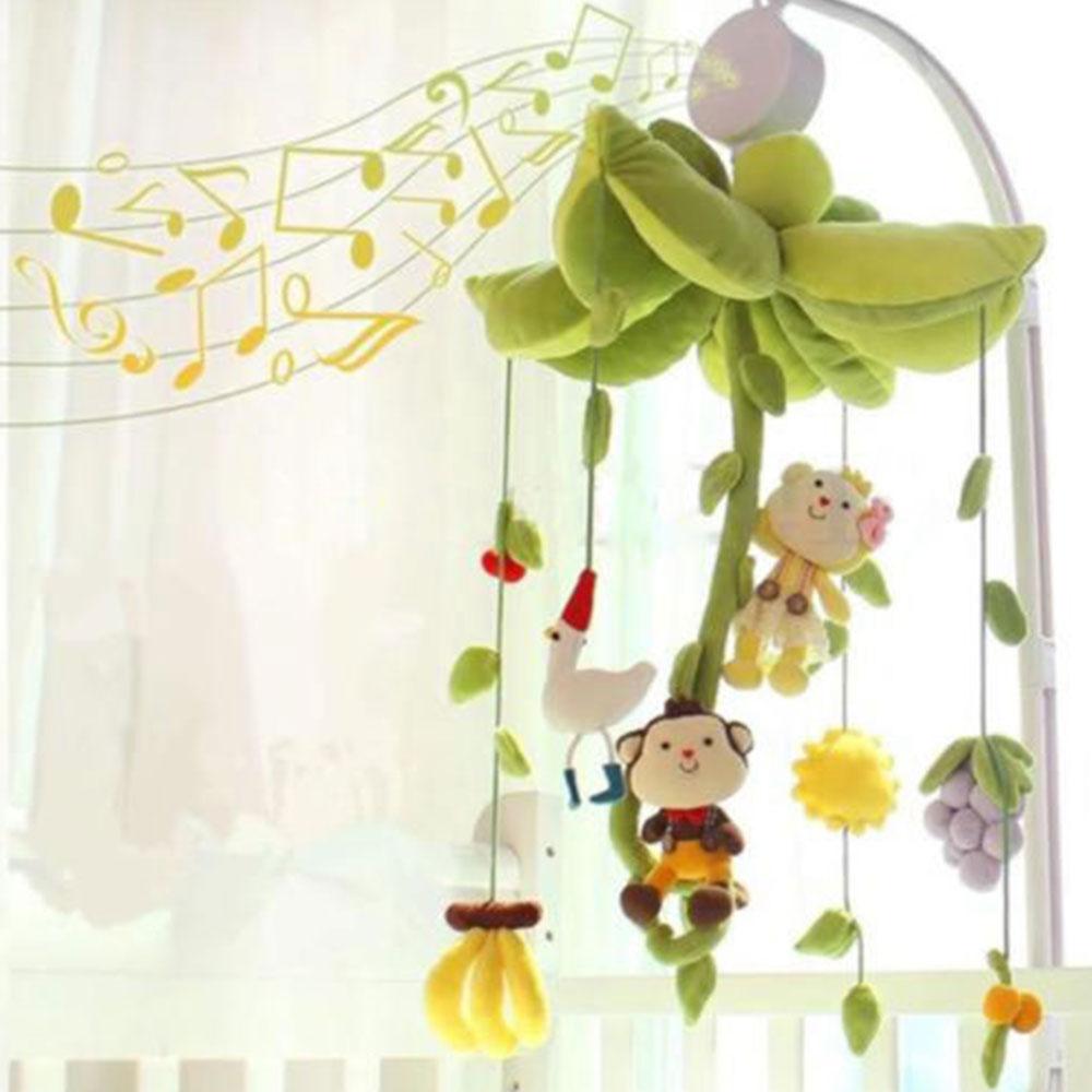 Творческий Clolckwork колокольчики для детской коляски замечательная Новинка меховой шарик-подвеска кукольная кровать колокольную