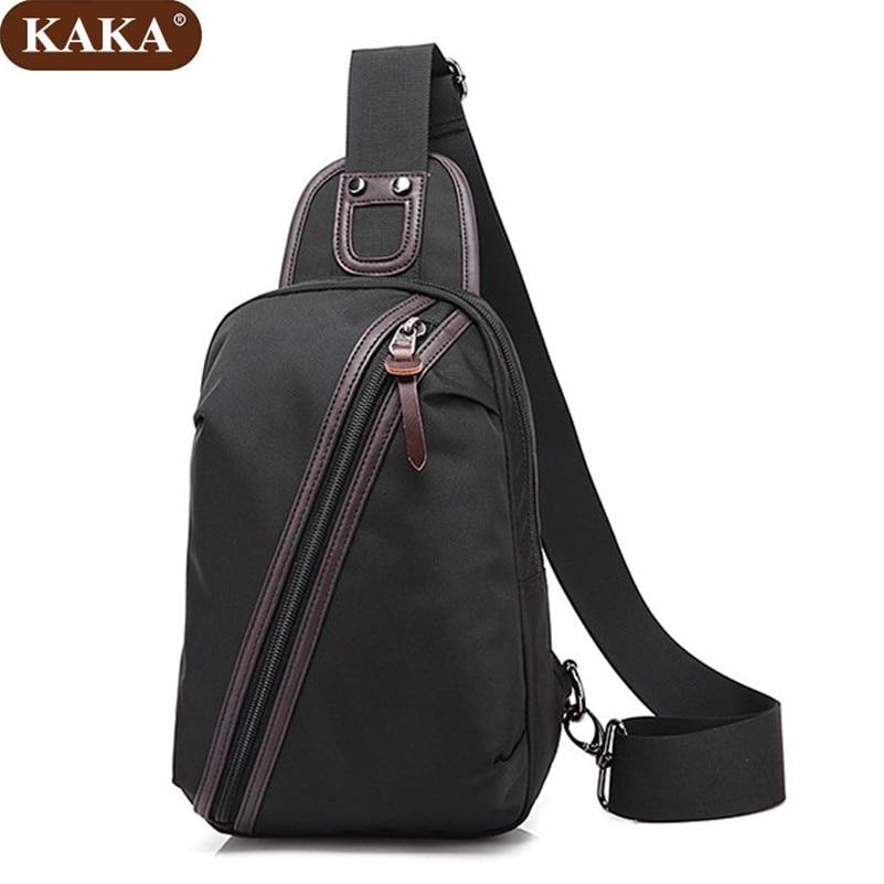 e0d2f86f8061 KAKA New Arrival Oxford Men Chest Pack Single Shoulder Strap Back Bag  Crossbody Bags for Women Sling Shoulder Bag D018