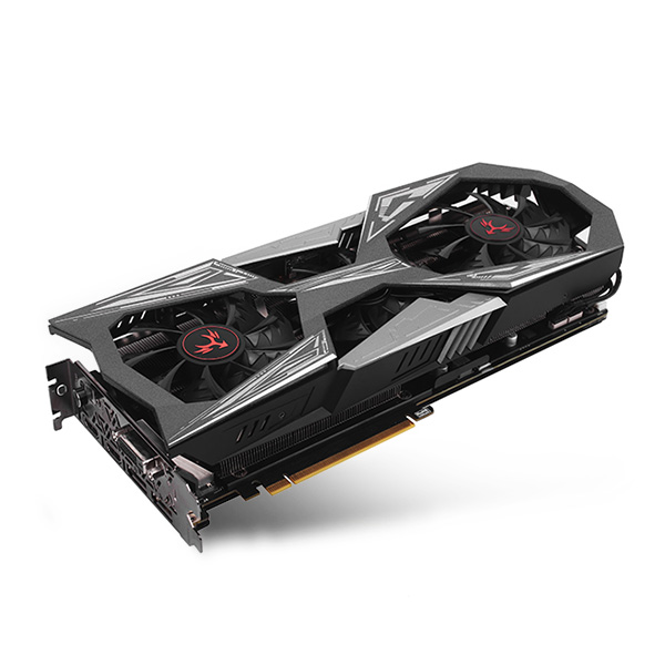 Original Colorful iGame GeForce GTX 1070 Ti Vulcan X Top Graphics Card 8GB 8000MHz 256bit GDDR5 LCD Monitor With DVI DP HDMI