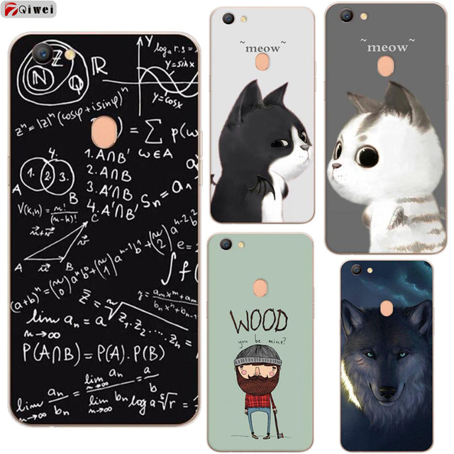 ccbe881e2d For OPPO F5 Case Silicone Cute Cartoon Soft TPU Clear Back Phone Cases For  OPPO F5 Youth Cover For OPPO F5 A73 A73T Cases Coque