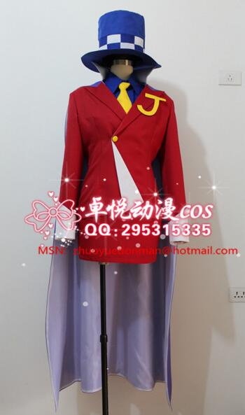 Persona JOKER Kaitou Kid the Phantom Thief Cosplay Costume Game Phoenix party girls dress whole set image