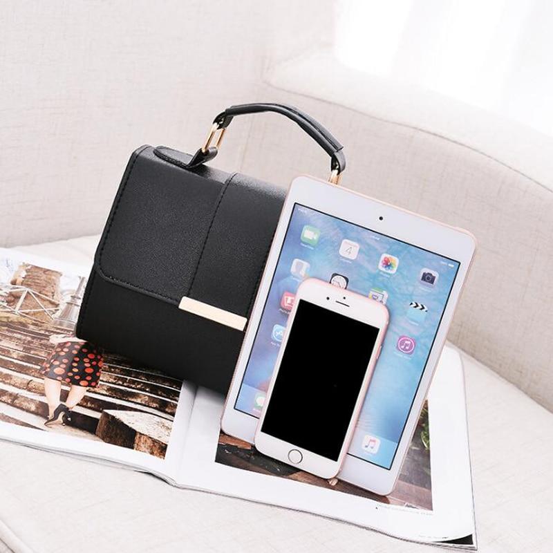 Women Bag Leather Handbags PU Shoulder Bag Small Flap Crossbody Bags for Women Messenger Bags 4