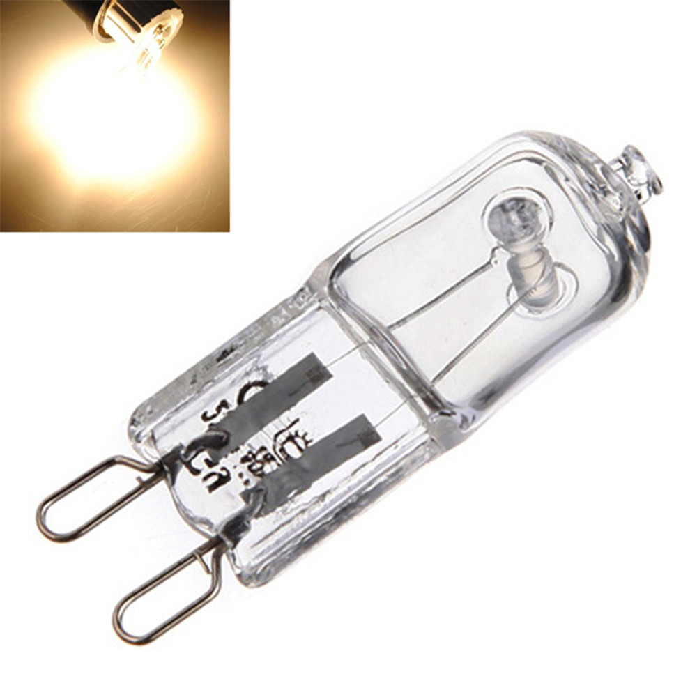 10 X G9 40w Halogen Light Bulbs Long Life Capsule Lamps 360degrees Warm White Clear In Holiday Lighting From Lights On Aliexpress