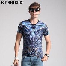 Summer style Classic 3D Printing Men T Shirt Fashion Hip Hop Tee Tops Funny Men Tee Shirt Cotton Short Sleeve TShirts Homme 5XL