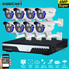 Super Best 8CH 4MP Full HD CCTV Camera Home Outdoor Waterproof Array Security Camera System Kit