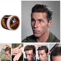 Popular Ancient Hair Cream Product Hair Pomade For Styling Salon Hair Holder In Suavecito Skull Strong Hair Modelling Mud Y-87