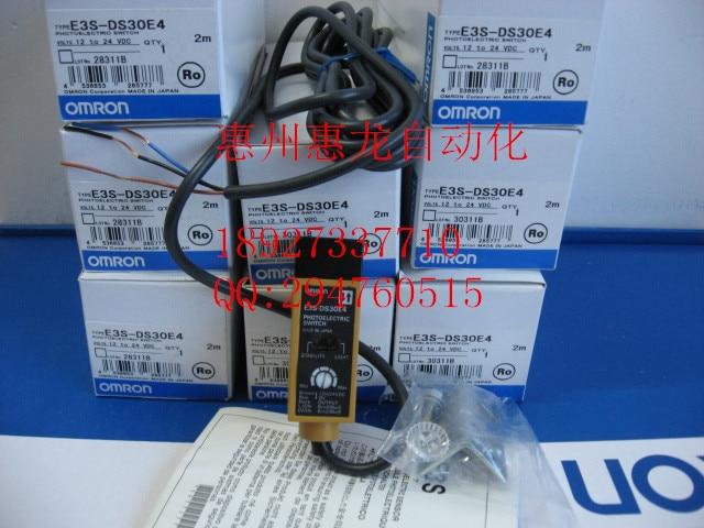 [ZOB]  n photoelectric switch E3S-DS30E4 2M [zob] new original omron omron beam photoelectric switch e3jk tr12 c 2m 2pcs lot