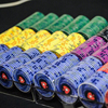 60 pièces Jetons de Poker En Céramique Ensemble EPT Casino Jetons European Poker Tour Professionnel Poker Stars Poker Chips 1