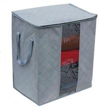HOMEBEGIN коробка для хранения портативный органайзер нетканый тканевый чехол для одежды держатель Одеяло Подушка подстилка сумка для хранения коробка
