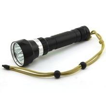 Dx4 Diving Flashlight 4 x CREE XM-L L2 6000 Lumens Underwater 100m Scuba Diver LED Light Torch By 3.7V 18650 or 26650