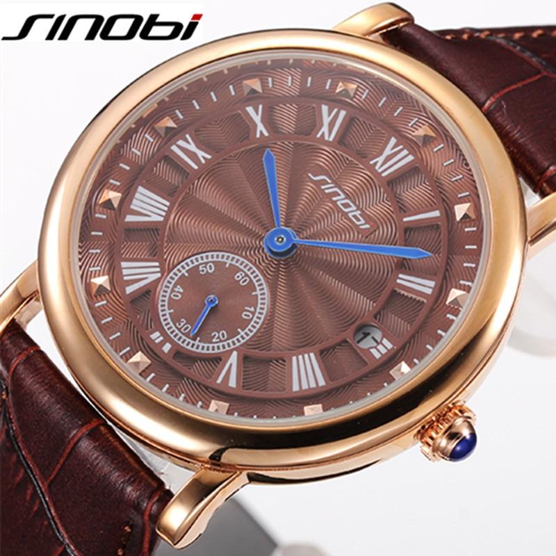 25ef904cb7c SINOBI Desenhador Ocasional Esporte Relógios Mens Relógios Top Marca de  Luxo Relógio de Quartzo Homens de Negócios Relógio de Pulso Masculino Reloj  Hombre