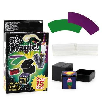 Magic Toys Style Kids Magic Trick Sets Magic Play Magic Tricks Stage Close Up Magic Prop Gimmick Game Toys Gifts YH1204 фото