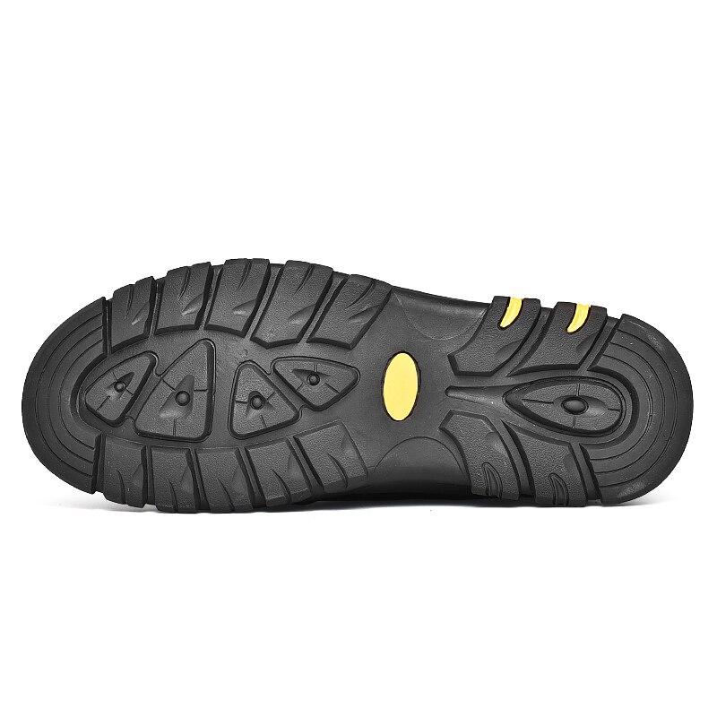 b1350675e5b3c Sex3 Zapatillas Piel Invierno Botas Cálidas Nieve De Impermeables Invierno  Brown Tenis Zapatos black Para Hombre xwwUYq7T