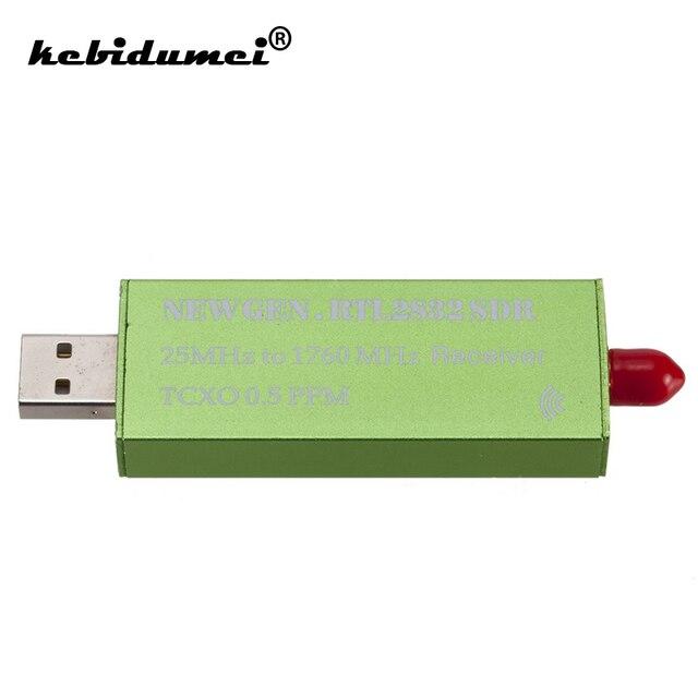 USB2.0 RTL SDR TV Scanner Receiver SDR 0.5 PPM TCXO RTL2832U R820T2 TV Tuner Stick AM FM NFM DSB LSB SW Software Defined Radio