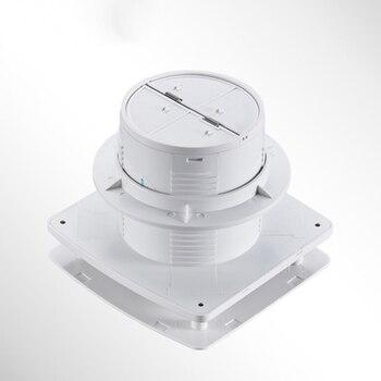 4 Zoll Hohe Geschwindigkeit Auspuff Fan Wc Küche Bad Hängen Wand Fenster Glas Kleine Ventilator Extractor Auspuff Fans