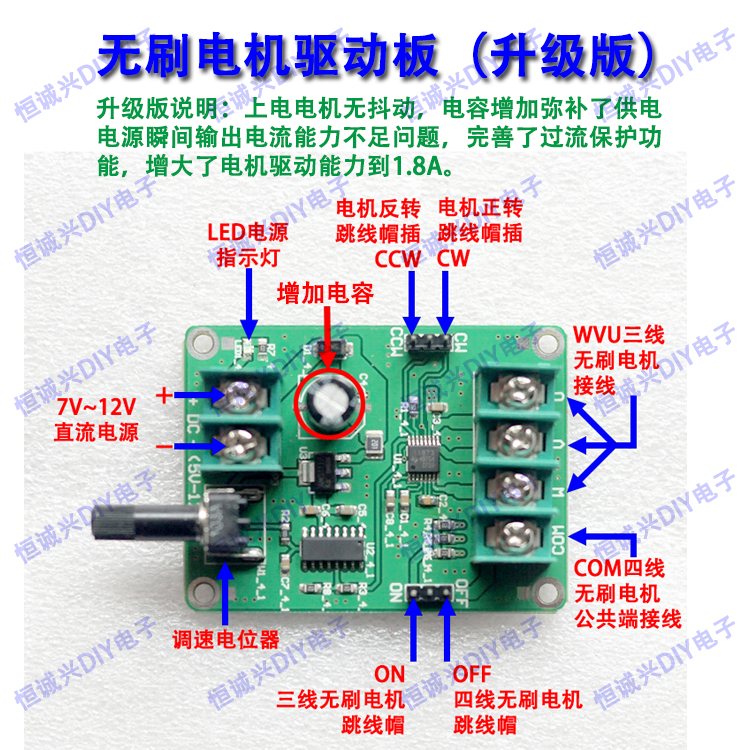 Good and cheap electric motor cd drive motor in All Motors