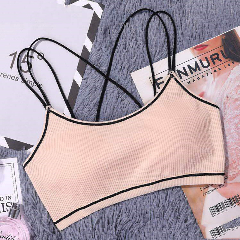 Home Sport Bra With Lace Multi-color Women Breathable Comfortable Fitness Girl Bust Bra Screw Thread Tops Beautiful Back Underwear Various Styles