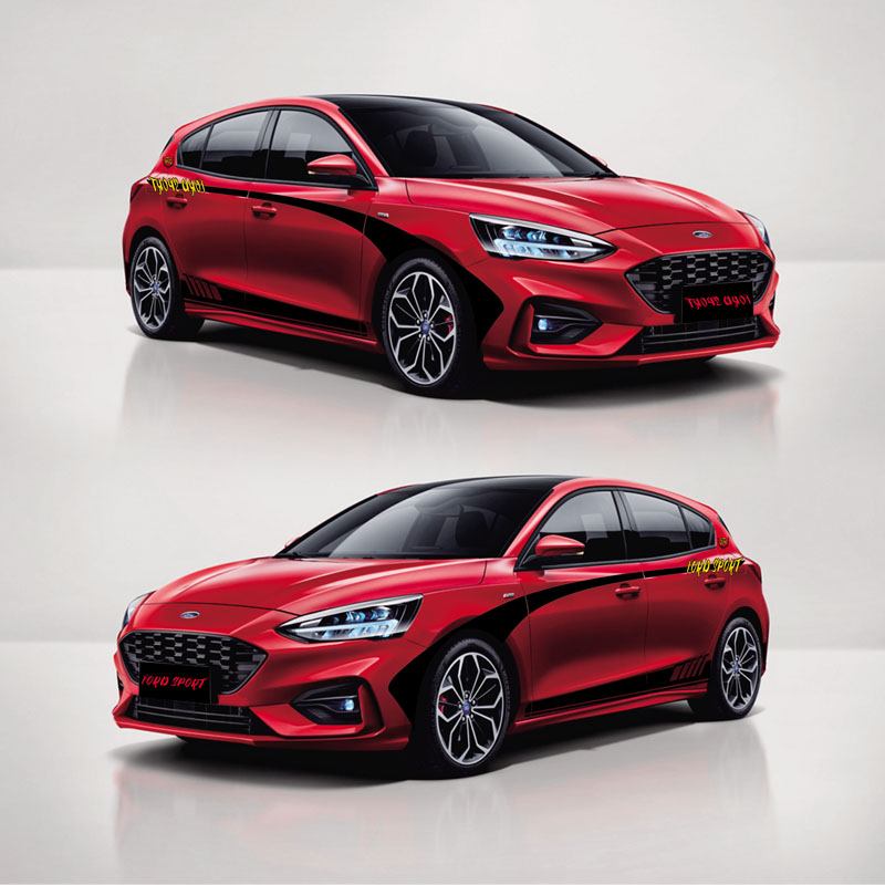 TAIYAO Car Styling Sport Car Sticker For Ford 2019 Focus