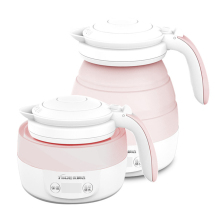 2019 Portable Collapsible Electric Kettle Smart Heat Preservation Foldable Teakettle Temperature Touch Control Boiling Water