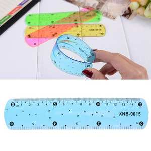 Bookmark Ruler Drawing-Tool Office-Measurement-Supplies Plastic 15cm Students New Pvc