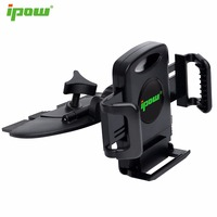 IPOW Car Phone Holder Cd Slot GPS Mobile Phone Holder Car Mount Cradle For IPhone 6