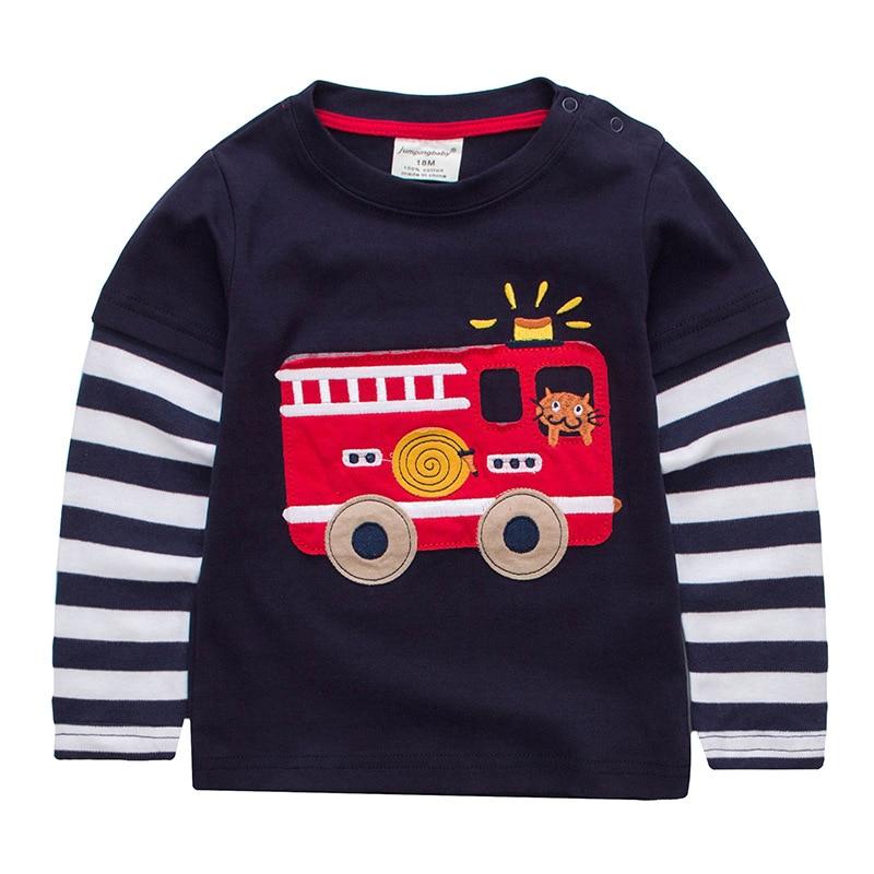 2018 Boys T-shirt Clothes Kids T-shirts Camisetas Baby Boy Cars Tshirt Roupas Infantis Menino Childre Clothing Enfant Camiseta женская футболка other 2015 3d loose batwing harajuku tshirt t a50