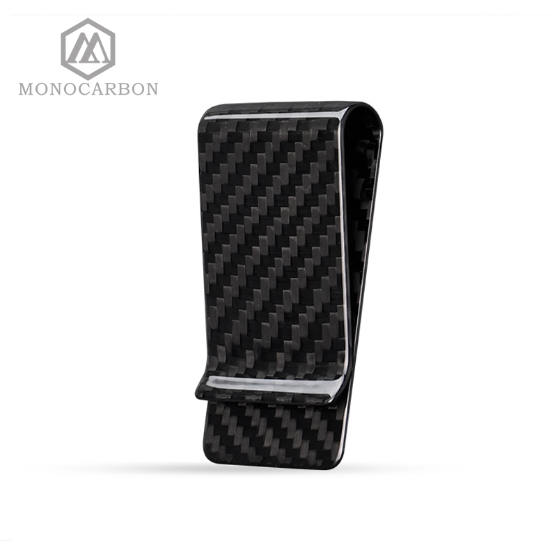 Monocarbon Minimalist Genuine Carbon Fiber Money Clips Wallets Aramid Fiber Clamp For Money new original bi10 s30 ap6x s100 warranty for two year