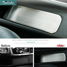 Tonlinker Adesivi Copertura Per Mitsubishi Outlander 2016-18 auto styling 1 pz in acciaio inox Freno A Mano posizione della copertura autoadesivo