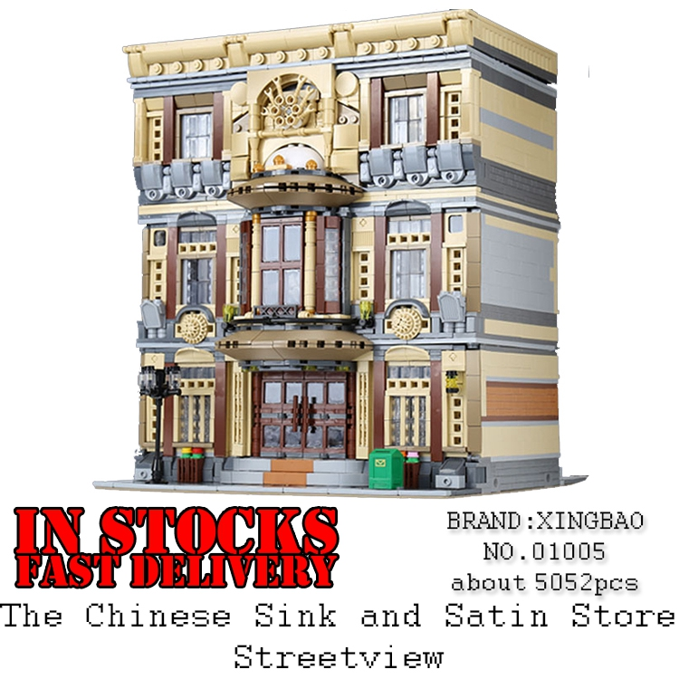 XingBao 01005 5052Pcs Genuine Creator City Series The Maritime Museum Building Blocks Bricks Toys for Children Christmas Gifts the maritime engineering reference book