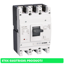 MCCB Moulded Case Circuit Breaker EKM8E-630H 400A 500A 630A rs34 630 with 500a 630a 400a high capacity fuse